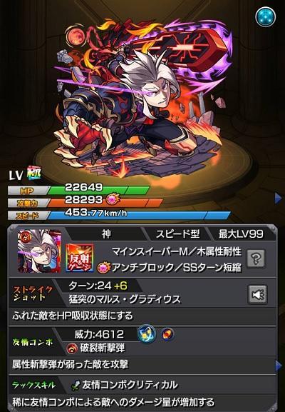 マルス【獣神化】ステータス