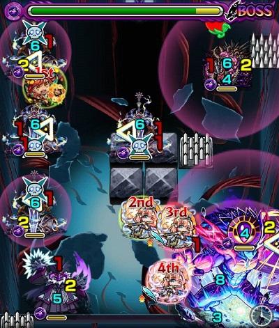 イェソドのステージ画面